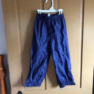 Toddler wind &rain resistant tek pants.